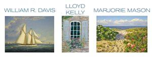 2016 Summer Exhibition - William R. Davis, Lloyd Kelly & Marjorie Mason