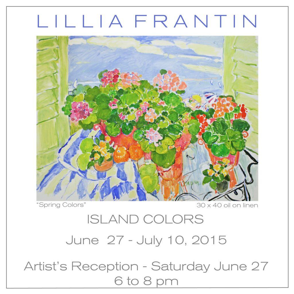 Island Colors Exhibition with Lillia Frantin