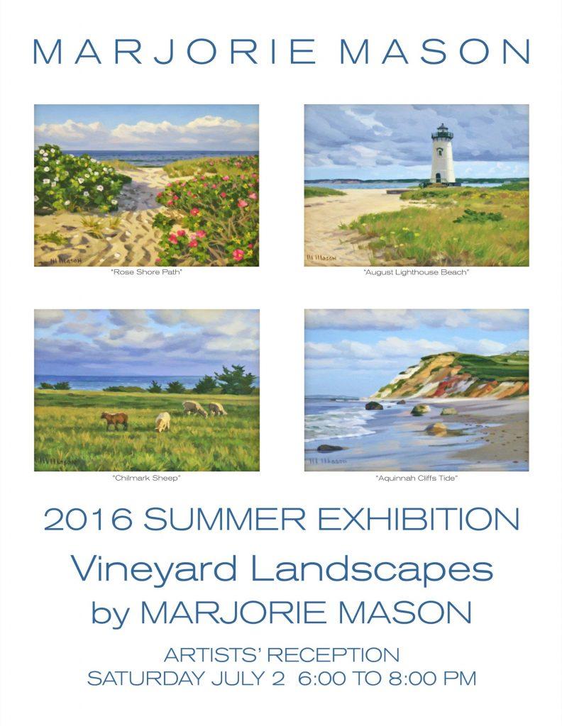 Vineyard Landscapes by Marjorie Mason
