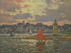 """Sunset Sail, Edgartown"" by John C. Traynor"