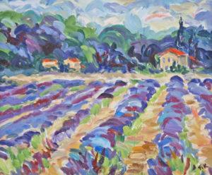 Lavender Near Villelaure