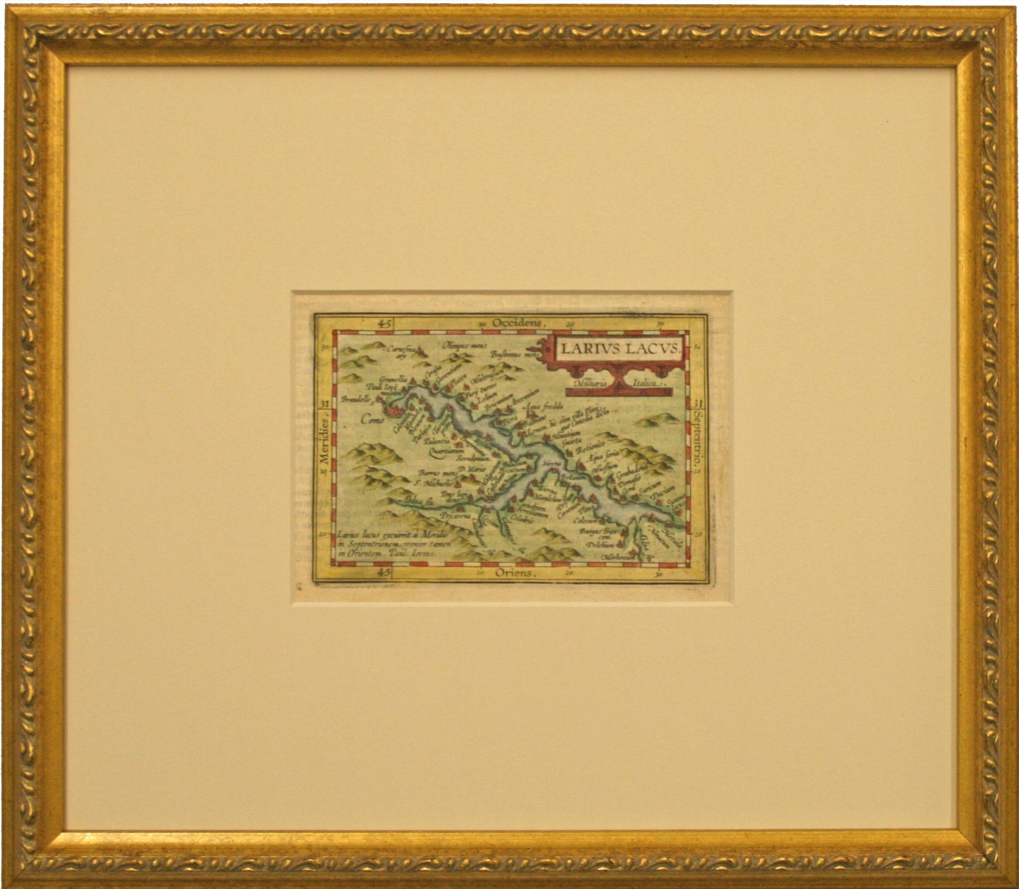 Larius Lacus 1600 The Christina Gallery